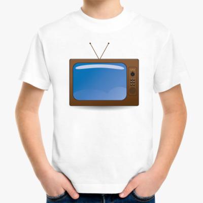 Детская футболка телевизор