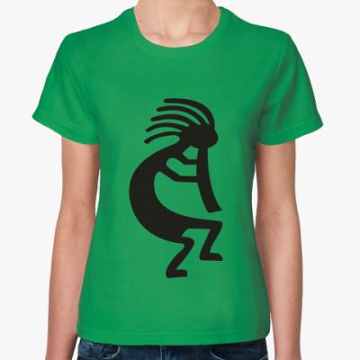 Женская футболка Труба