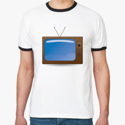 Футболка Ringer-T телевизор