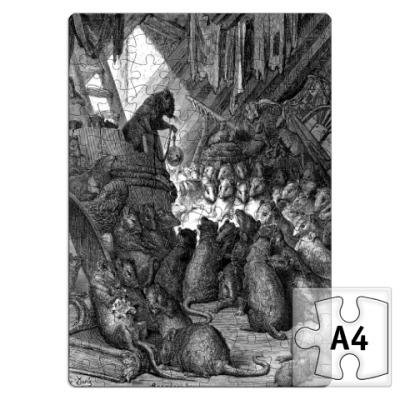 Пазл  Совет мышей Доре