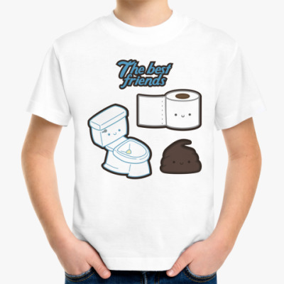 Детская футболка The best friends