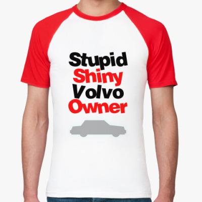 Футболка реглан Volvo owner
