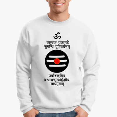 Свитшот Трьямбакам мантра
