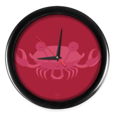 Настенные часы Animal Zen: C is for Crab