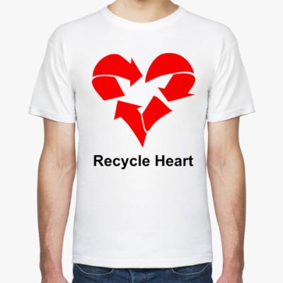 Футболка Recycle Heart