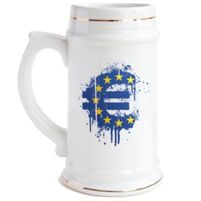 Пивная кружка  Евро
