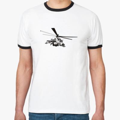 Футболка Ringer-T   Вертолет
