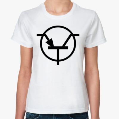 Классическая футболка Транзистор