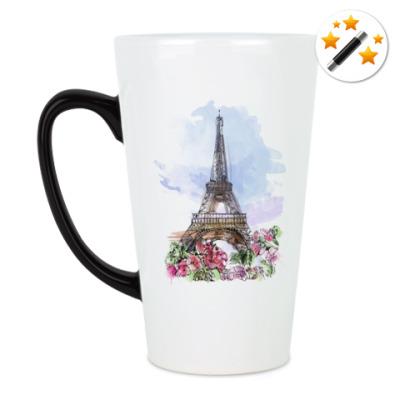Кружка-хамелеон Эйфелева башня - Париж
