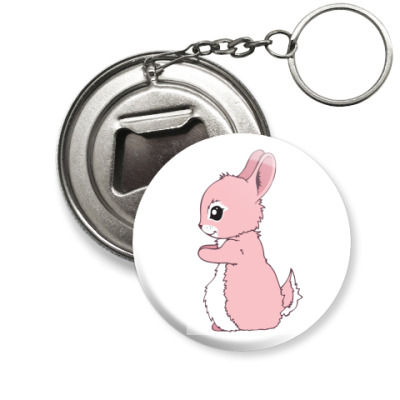 Брелок-открывашка Милый кролик