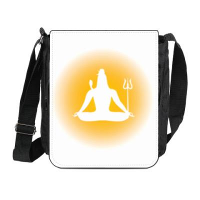 Сумка на плечо (мини-планшет) Господь Шива