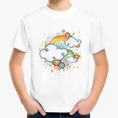 Детская футболка  'Облачко'