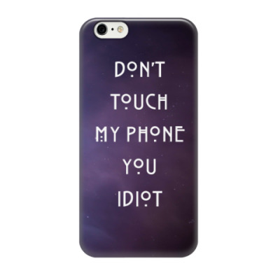 Чехол для iPhone 6/6s AHS- idiot