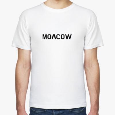 Футболка MOSCOW с корейским символом