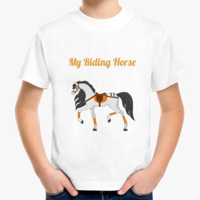 Детская футболка My riding horse
