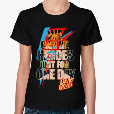 Женская футболка David Bowie - Heroes