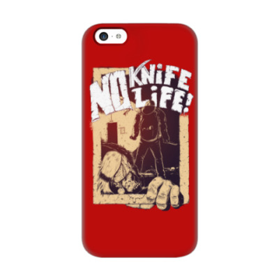 Чехол для iPhone 5c No Knife — No Life!