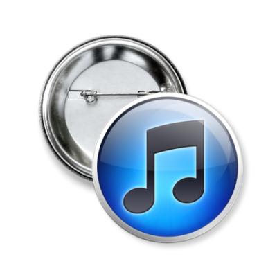 Значок 50мм  iTunes