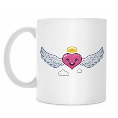 Кружка Сердце-ангел