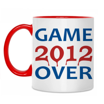 Кружка 2012 Game over