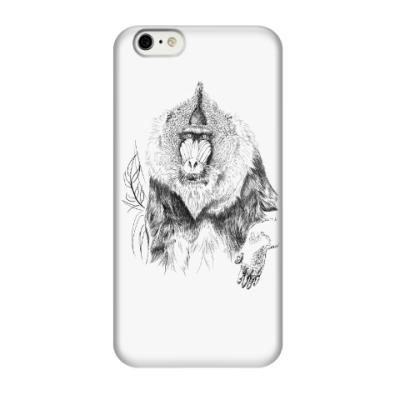 Чехол для iPhone 6/6s Мандрил