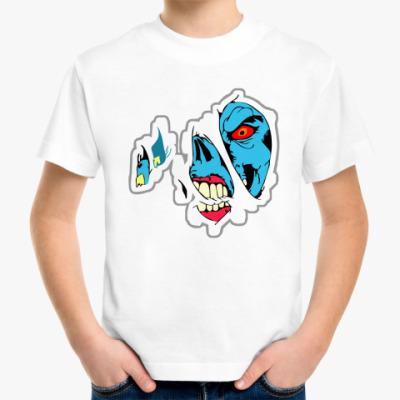 Детская футболка  'Зомби'