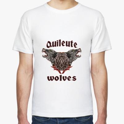 Футболка Quileute wolves