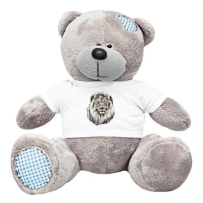 Плюшевый мишка Тедди Лев