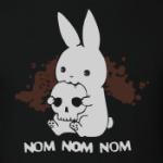 Кролик кушает мозги