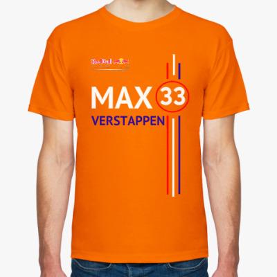 Футболка Мужская футболка Max Verstappen