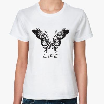 Классическая футболка Life