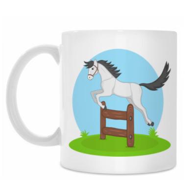 Кружка jumping horse