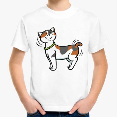 Детская футболка Кот-котофеич