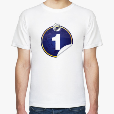 Футболка number