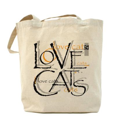 Сумка Люблю кошек
