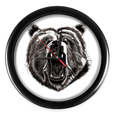 Настенные часы Медведь