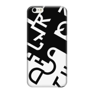 Чехол для iPhone 6/6s Абстракция из букв