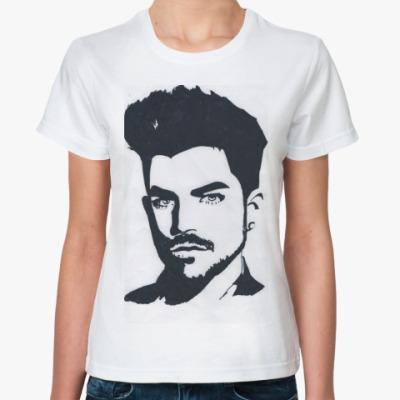 Классическая футболка Adam Lambert