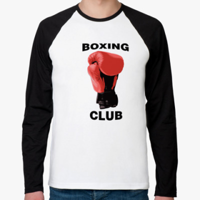 Футболка реглан с длинным рукавом boxing club
