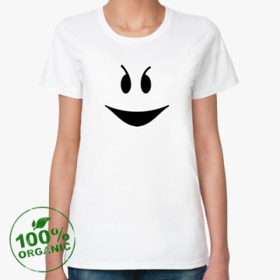 Женская футболка из органик-хлопка Привидение