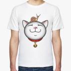 Классическая футболка Дзен Кот