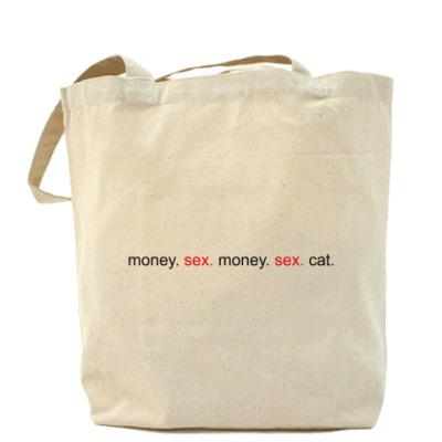 Сумка Money. Sex. Cat.