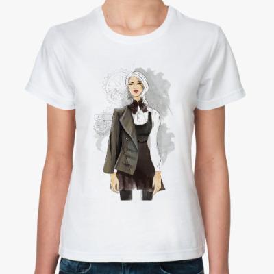 Классическая футболка Стим панк фэшн
