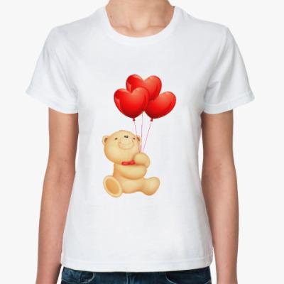 Классическая футболка Мишка Тедди