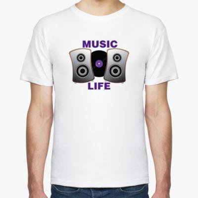 Футболка Music