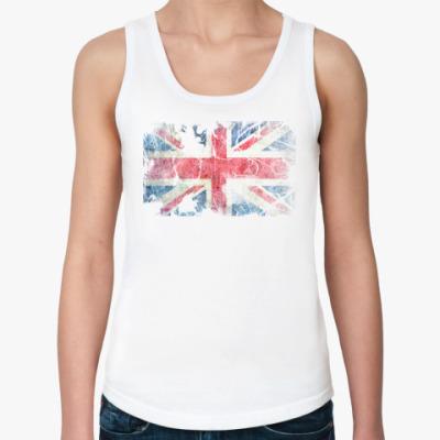 Женская майка British flag