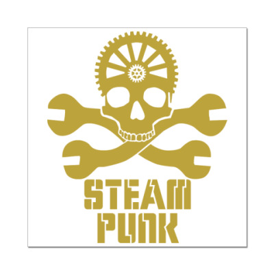 Наклейка (стикер) steampunk