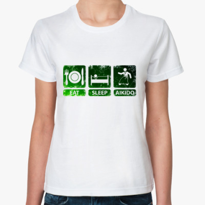 Классическая футболка Айкидо
