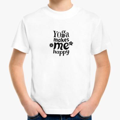 Детская футболка Йога