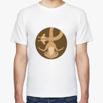 Футболка Animal Zen: G is for Giraffe